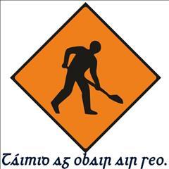 Oibreacha Bóithre - Road Works
