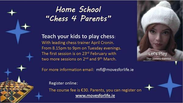 Cúrsa Fichille - Chess Course
